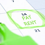 Calendar mark with Pay rent