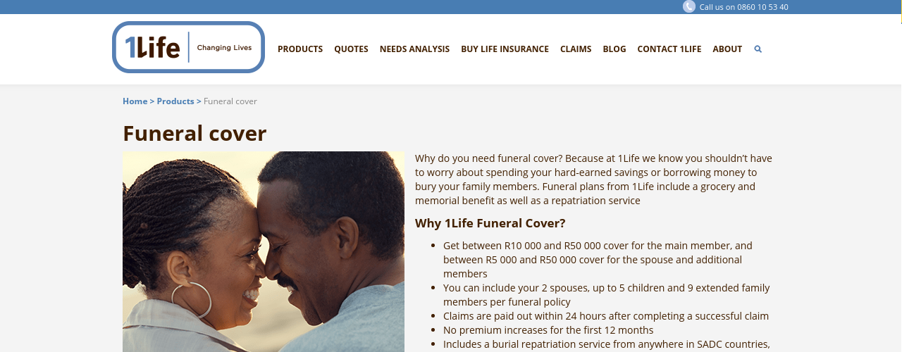 1Life Funeral Cover